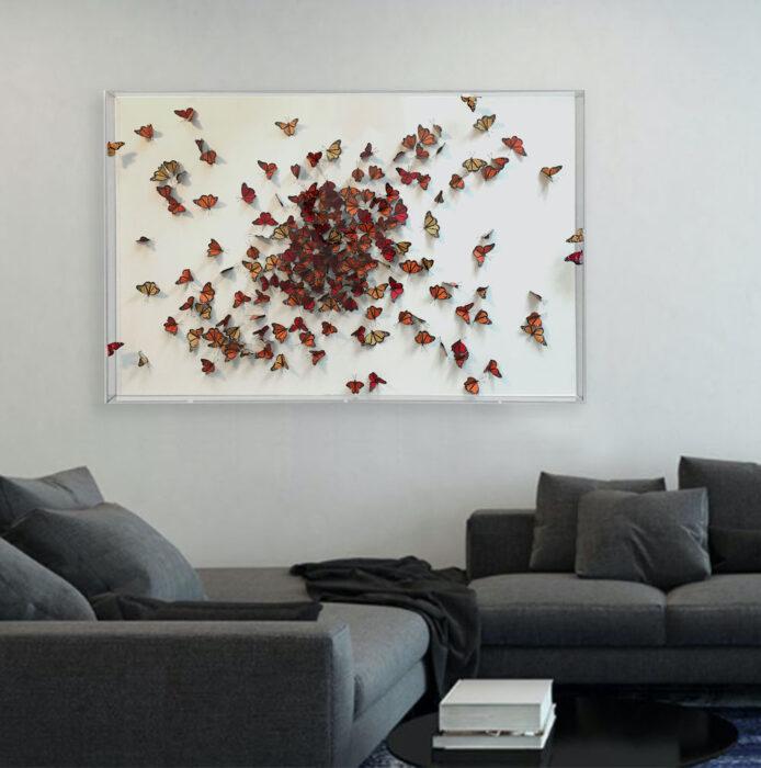 Guilded artist Daniel Byrne Grosvenor House commission