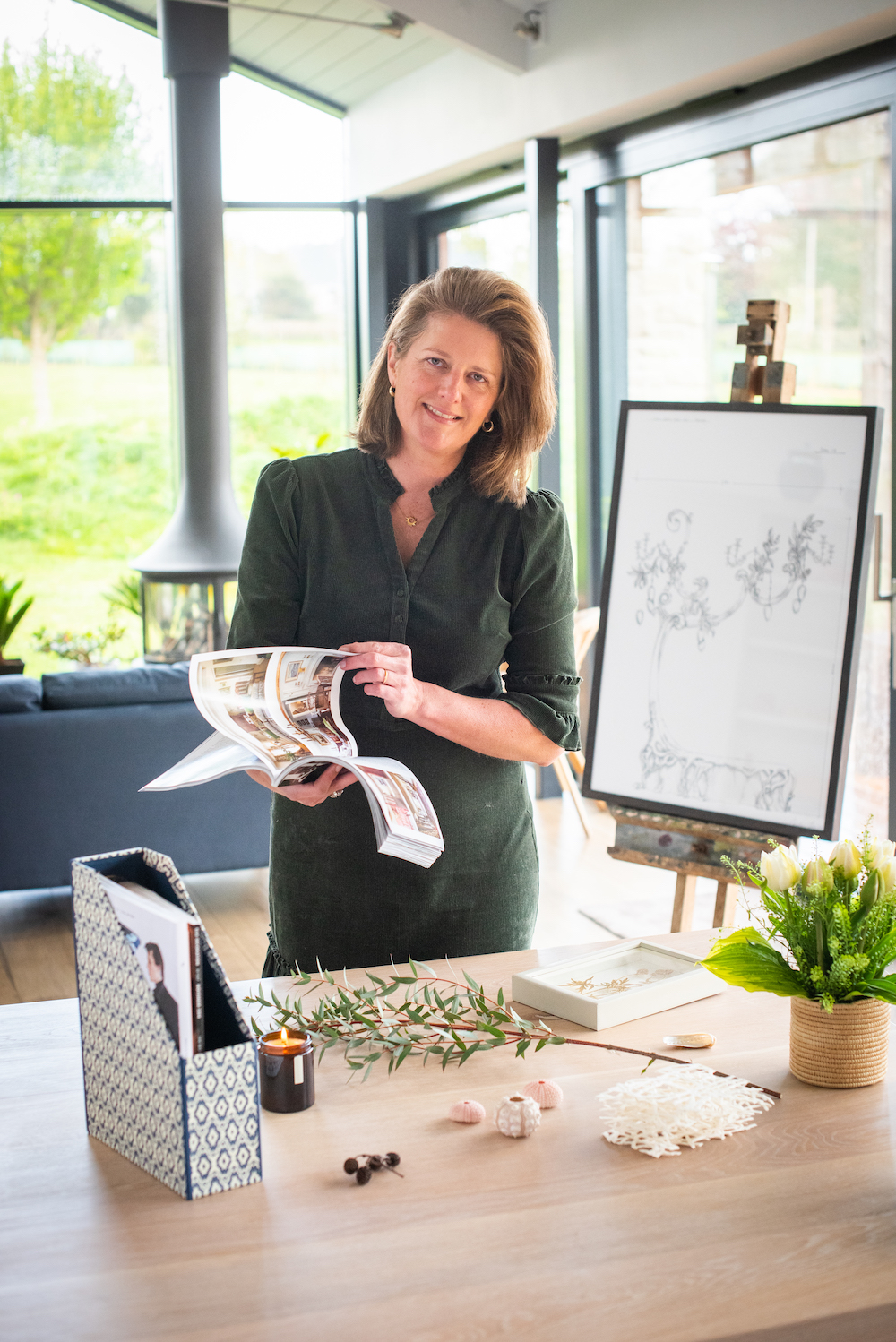 Charlotte Bowater_Guilded by Charlotte Bowater_gathering inspiration for a bespoke commission