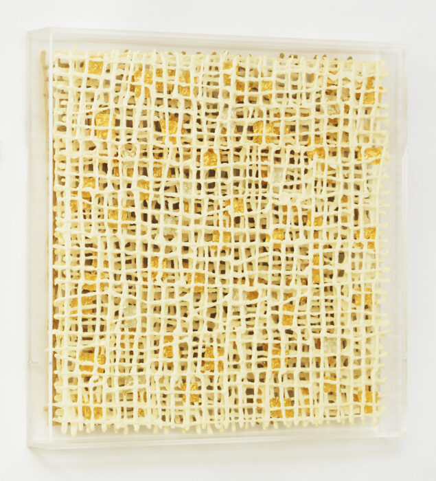 Interwoven II by paper maker and artist Gill Wilson