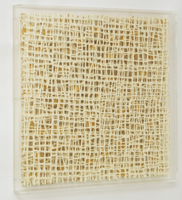 Interwoven II by paper artist Gill Wilson exclusively for Guilded